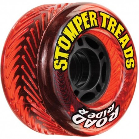 Ruedas Stomper Treads 70 mm Red