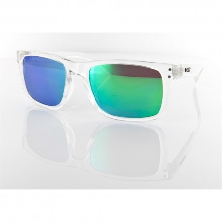 Globin Clear / Green Revo Sunglasses