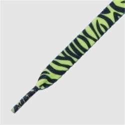 Printies ( Neon Lime Yellow Zebra ) 130 cm